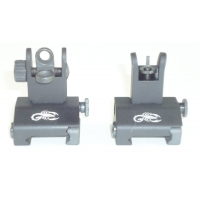 AR Detachable Folding Metal Sights