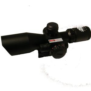Military Rifle Scope with Laser